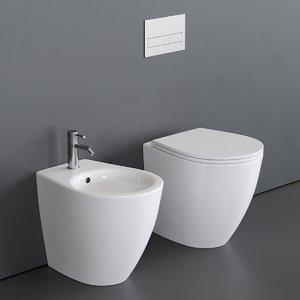 toilet bull 500 bidet 3D