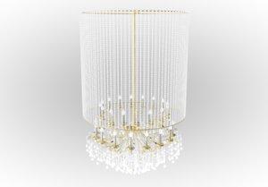 3D classic chandelier