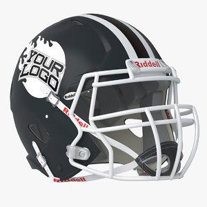 3D riddell victor youth helmet