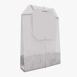 bag label tea model
