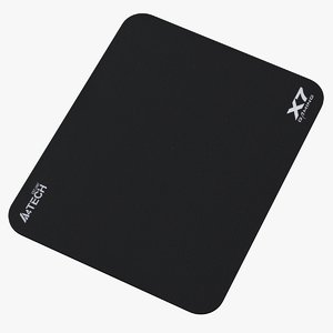 3D realistic gaming mouse pad model
