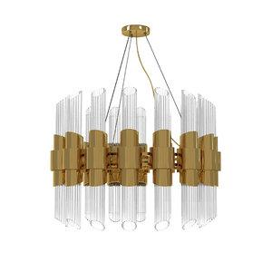 3D luxxu tycho chandelier