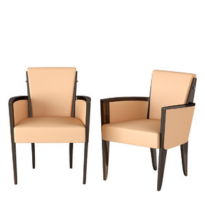 3D pollaro dining chairs yf114 model