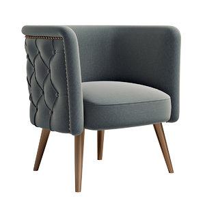 modeled chair 3D model
