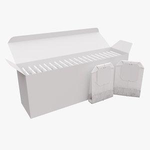 3D bag box paper