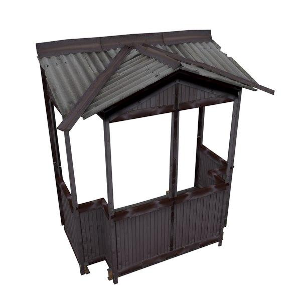 balcony metais 01 78 3D model