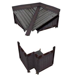 balcony metais 01 85 3D