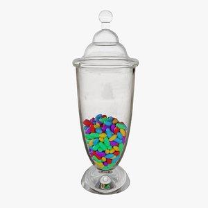 3D pbr color model