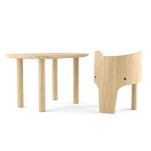 marc venot elephant chair table 3D model