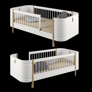 3D oliver furniture wood mini