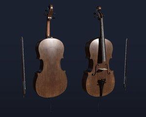 3D model cello classic
