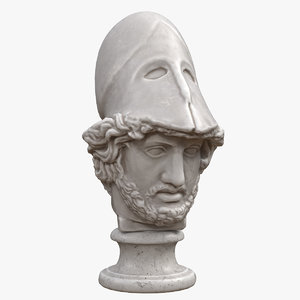 pericles head model