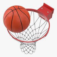 basketball bounces ring ball hoop model