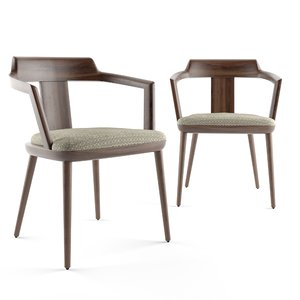 3D porada tilly chair model