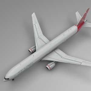 3D virgin australia airlines boeing