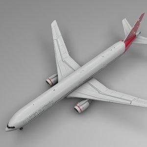 3D virgin australia airlines boeing