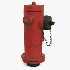 hydrant v-ray 3D model