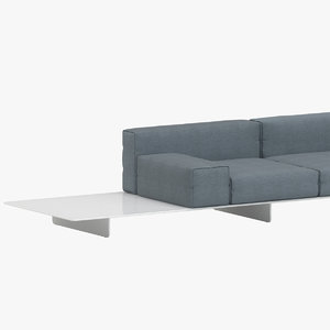jehs laub fin sofa 3D