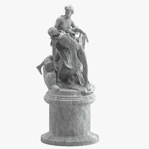 joseph chinard venus aeneas 3D model