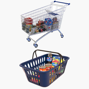 3D shopping carts 2