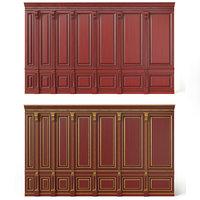 wooden panels bpr wood wall 3D