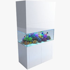 3D aquarium 02 model