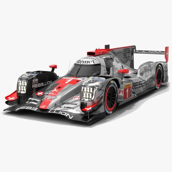 3D season race car