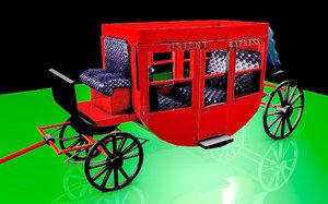 historical orient express 3D model