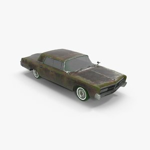 chrysler imperial 3D model