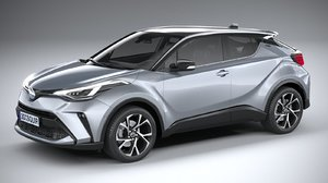 toyota c-hr 2020 3D model