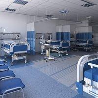 Big Patients Room 3D model