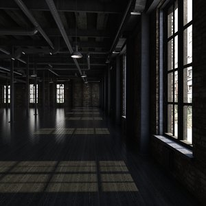 loft interior model