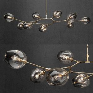 branching bubble lamp 3D model