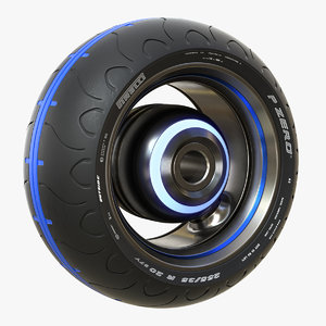 3D wide pirelli wheel motorcycles