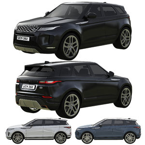 range rover land evoque model
