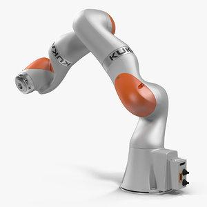 kuka robot lbr iiwa 3D