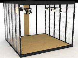 shop design interior 3D model