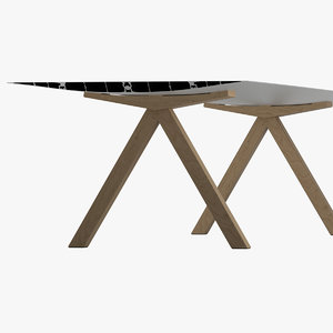 3D model konstantin grcic table b