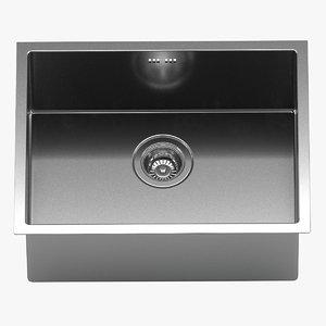 3D kraus undermount kitchen sink