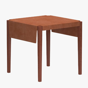 kgb table wood 3D model
