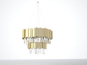 baladona chandelier lamp 3D model