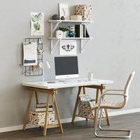 Workplace table ikea LINNMON FINWARD