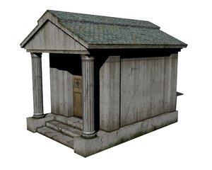 old mausoleum 3D