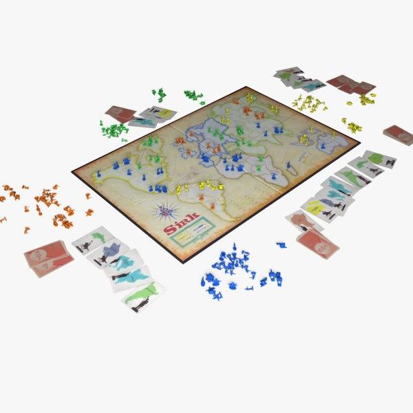 3D board risk