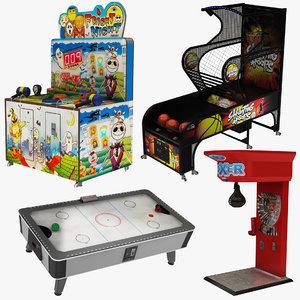 arcade machine 4 1 3D model