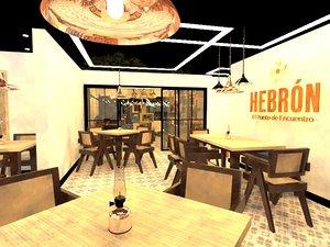 3D restorante coffebar