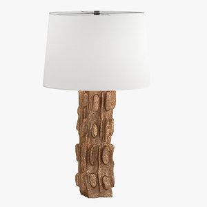 3D lamp 81 model