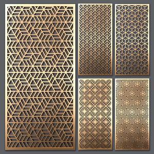 decorative partitions 3D model