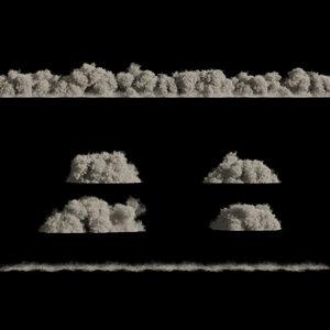 3D model dust storm