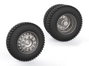 truck wheels model